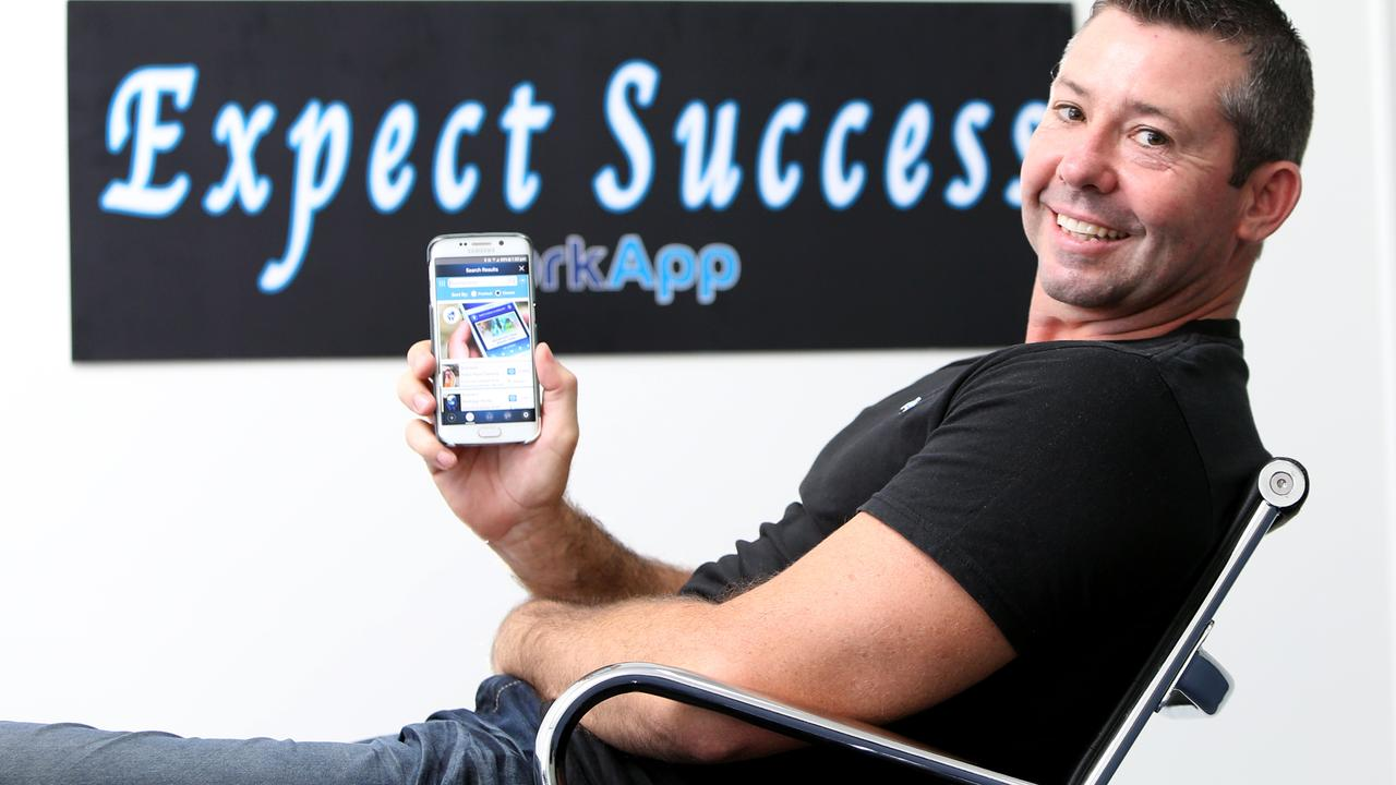 WorkApp founder Shane Wallace says job seekers just need to know where to look. Picture: AAP/Steve Pohlner