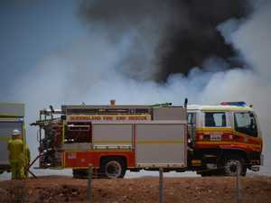 Firefighters on scene at super 'smoky' Boondooma grass fire