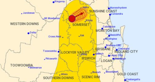 'Supercells possible': Severe storm warning issued