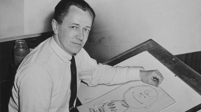 The creative genius behind the Peanuts comics, Charles M. Schulz. Source: Wikipedia