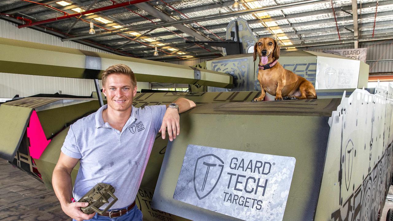 Steen Bisgaard from Gaardtech in Kedron. Picture: AAP/Richard Walker
