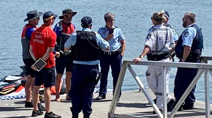 Search for swimmer suspended after 'exhaustive' inquiries