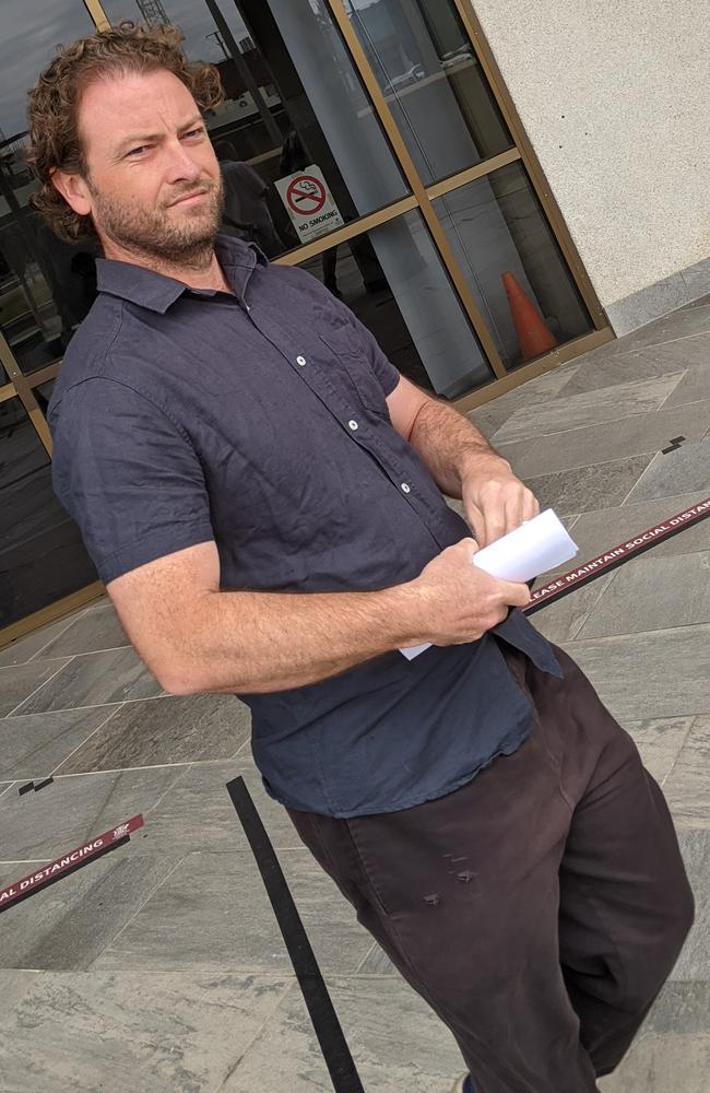 Jason Michael Bowman, 39. Picture: Alex Treacy