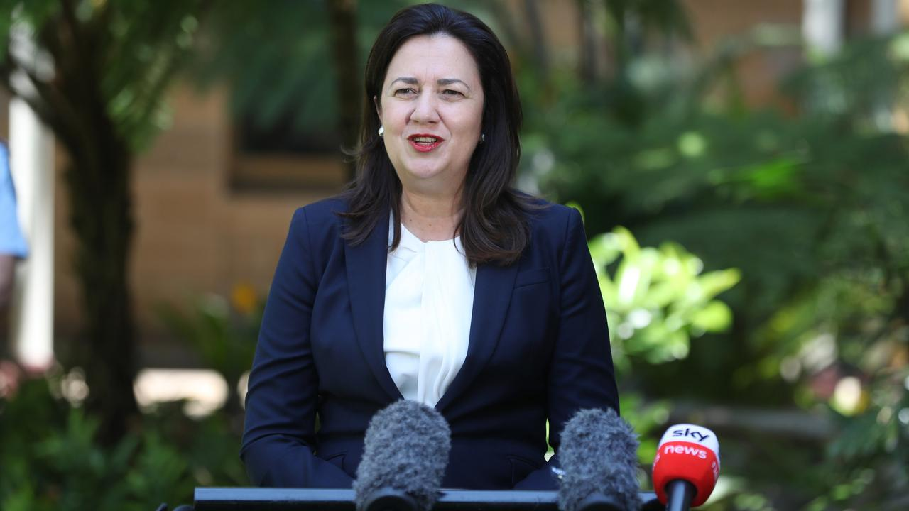 Premier Annastacia Palaszczuk says Queensland would welcome the NRL grand final.