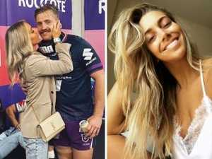 NRL star's touching tribute to partner