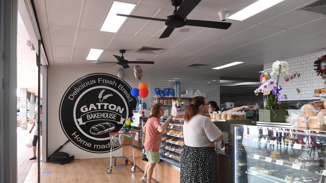 The new Gatton Bakehouse at the Gatton Square Plaza. Photo: Ali Kuchel.