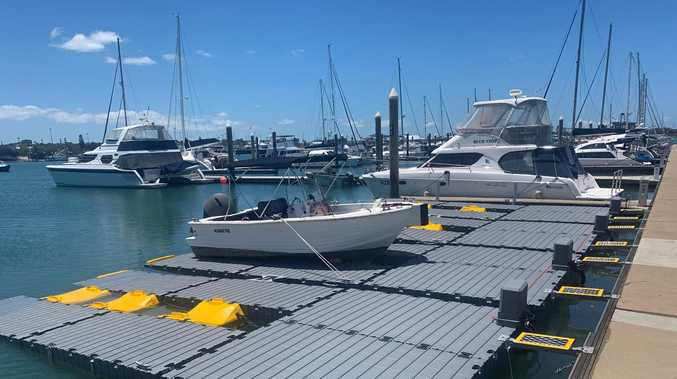 Four new floating berths for Gladstone Harbour