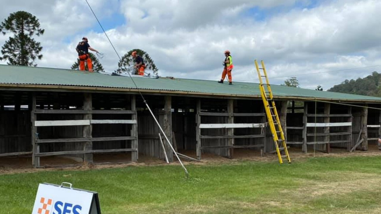 STORM TRAINING: Lismore SES Unit ran a successful Storm and Water Training course at the Lismore Showgrounds for 10 volunteers.