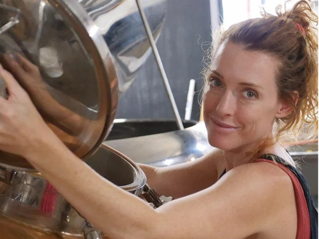 Catie Fry, founder of Clovendoe Distilling Co. Picture: Contributed