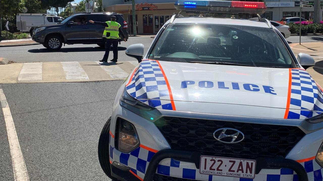 Police were called to a three-vehicle crash at Parkhurst on Wednesday afternoon. FILE PHOTO.