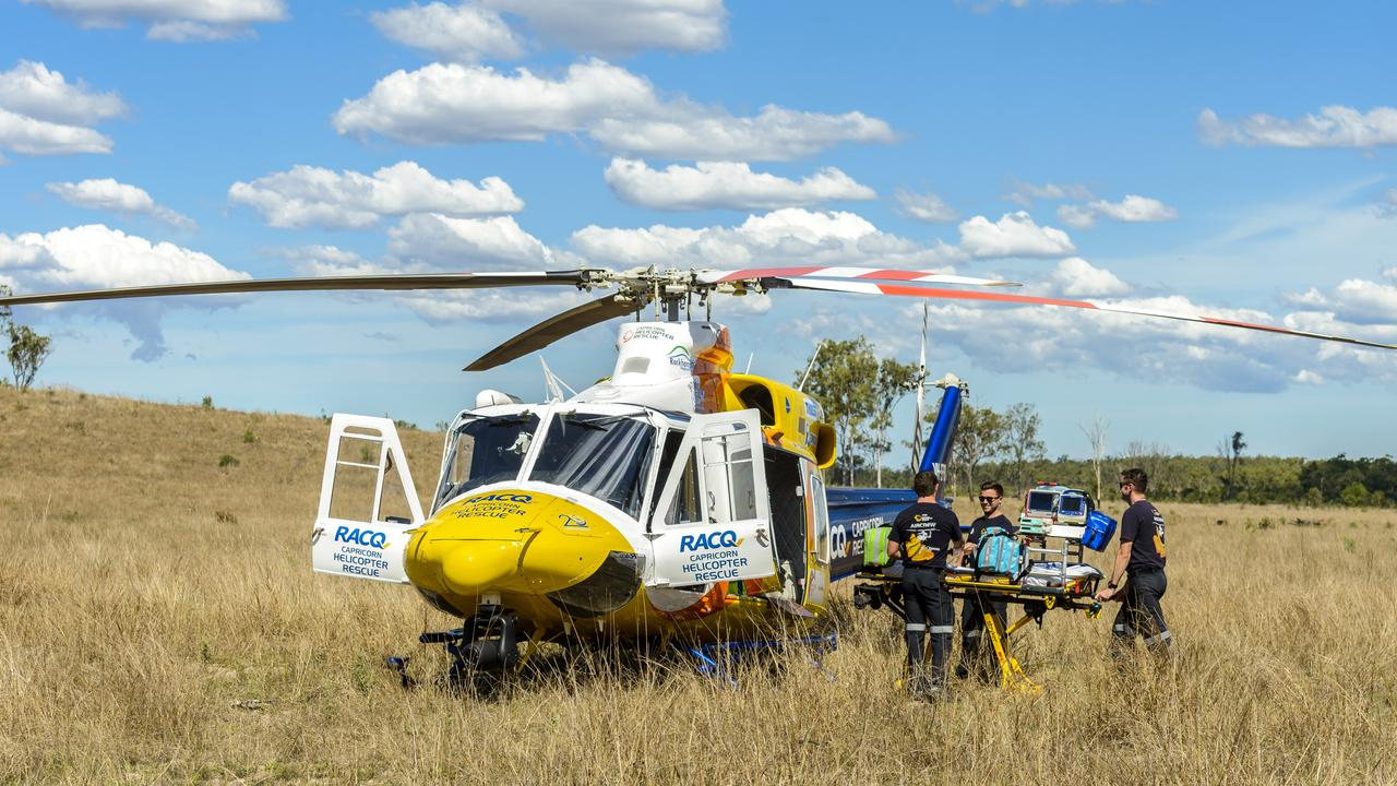 RACQ Capricorn Rescue offers approximately 300,000 Central Queensland residents access to lifesaving emergency helicopter rescue services.
