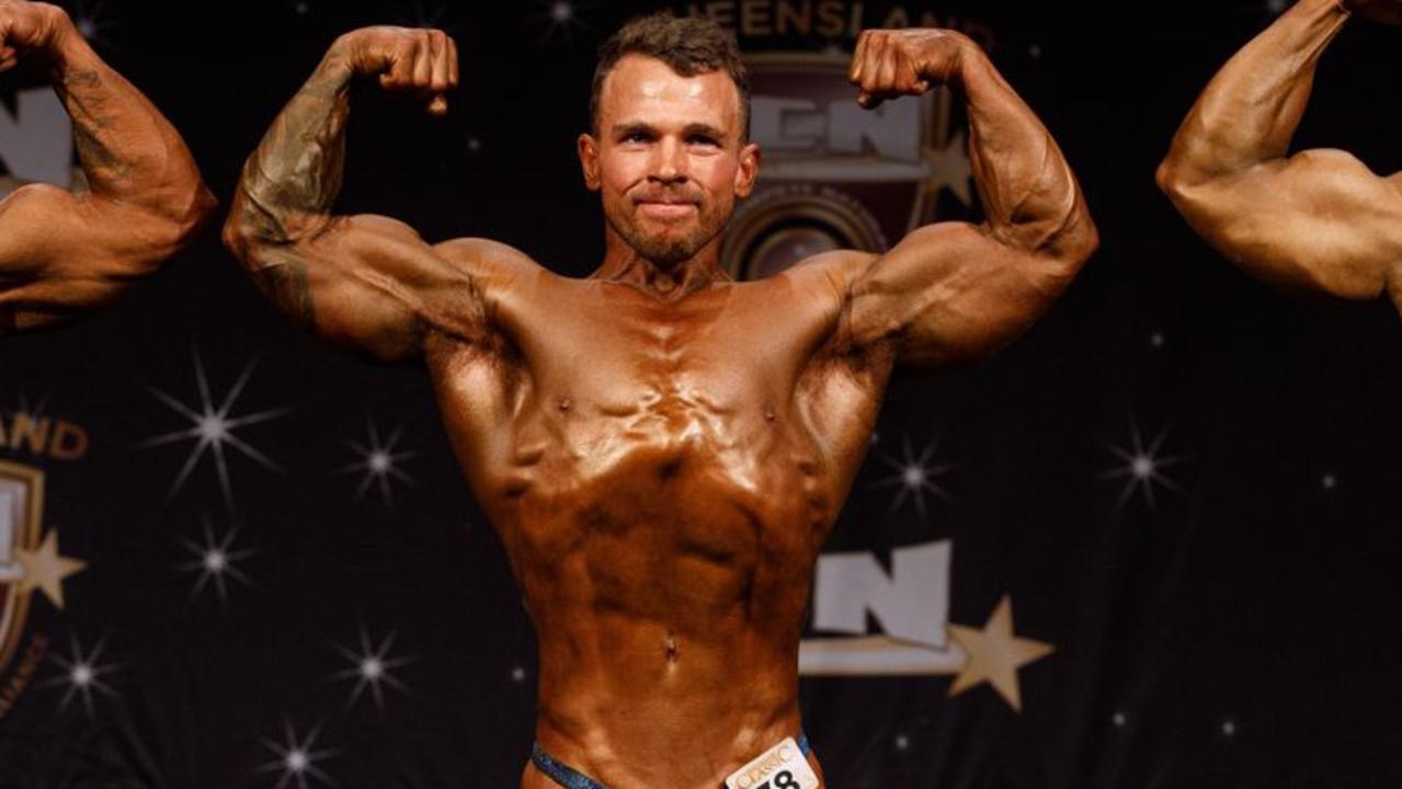 Mackay bodybuilder Kaidan Homan.