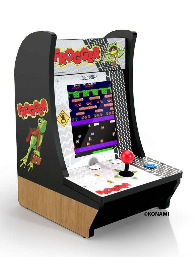 Arcade 1UP frogger counter-cade.