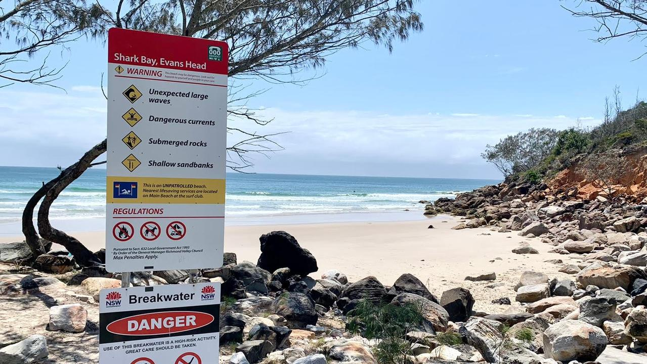 Emergency services are continuing to search for a female swimmer feared missing off the coast of Evans Head. Picture: Javier Encalada