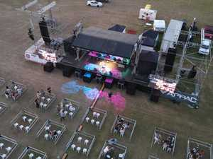 DRONE PHOTOS: Air Beats hailed a success