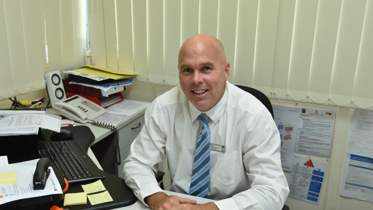 Toolooa State High School principal Justin Harrison.