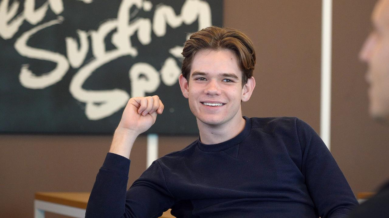Young Brisbane entrepreneur Jack Bloomfield.