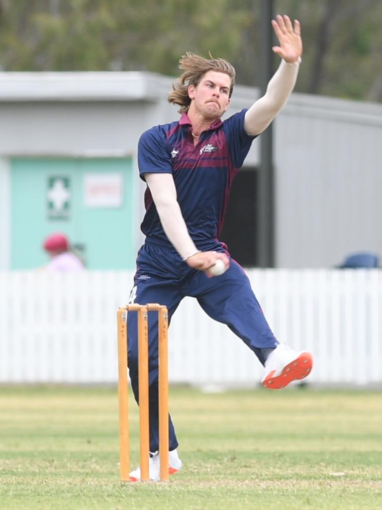 Mackay-Whitsunday's Lane Kohler bowls