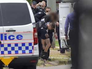 Dramatic arrest following armed standoff