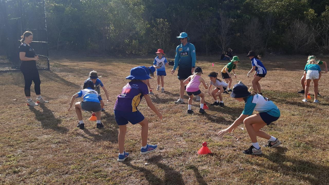 A pop-up blast program run by Queensland Cricket for Proserpine junior cricketers.