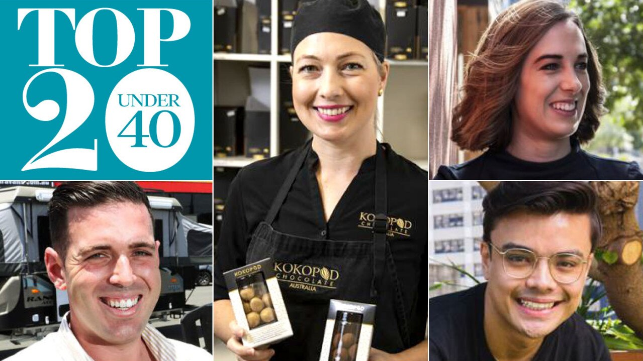 Queensland Business Monthly's Top 20 Under 40
