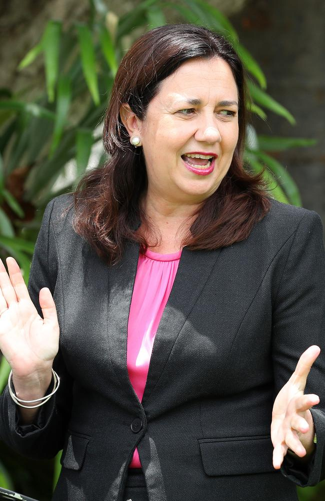Premier Annastacia Palaszczuk at Government House, Paddington. Photographer: Liam Kidston
