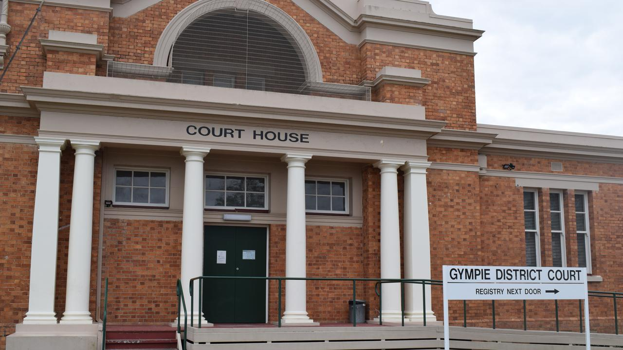 A middle-aged Gympie mum was caught dealing meth and marijuana as police investigated another man.