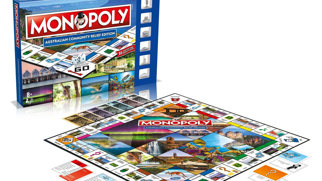 Bundaberg features on a new Monopoly board game which also comes in puzzle form.