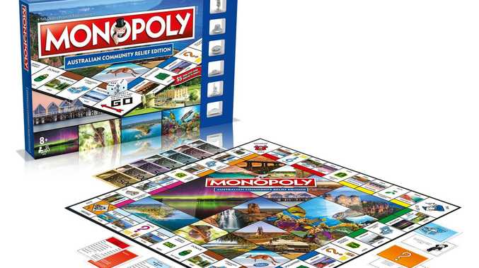 ON THE BOARD: Bundy passes go to feature on Monopoly game
