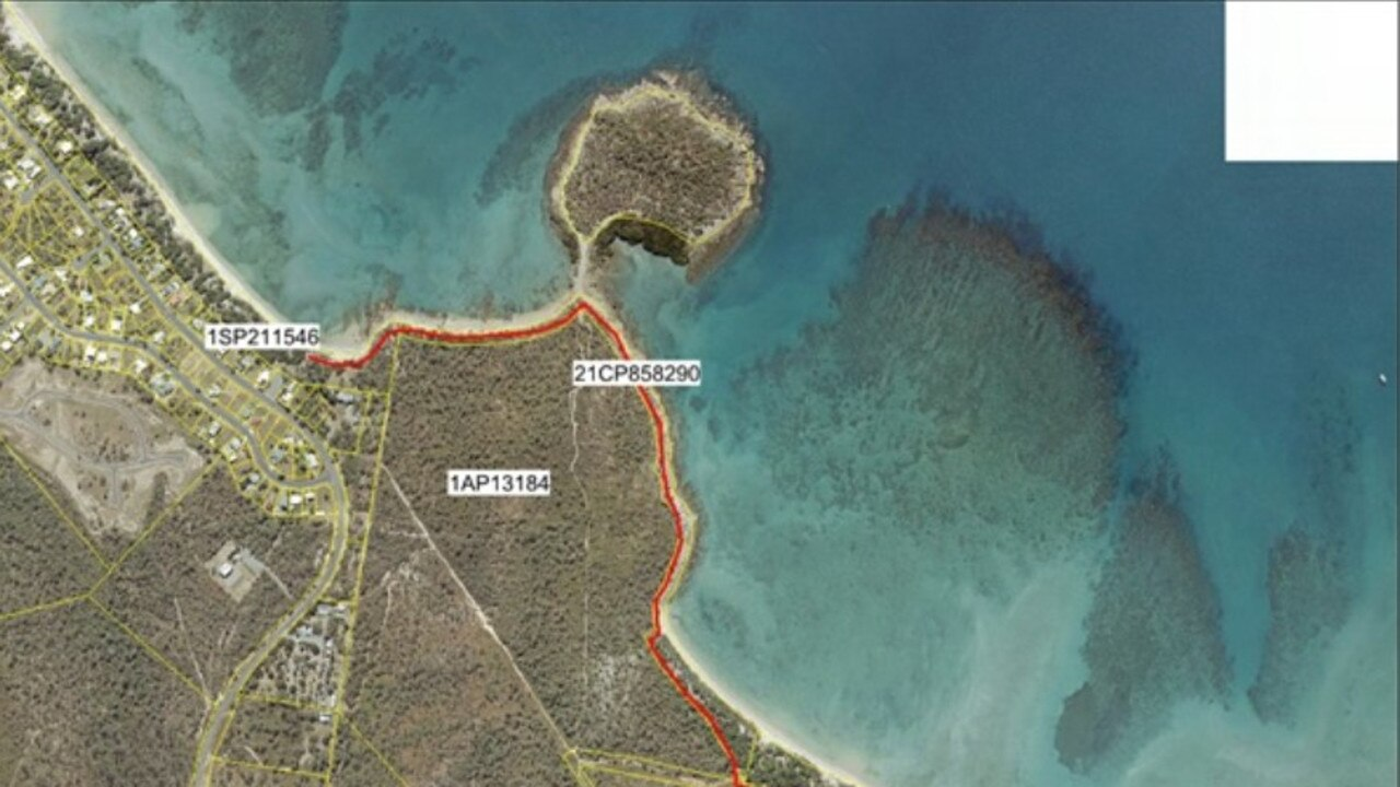 The walking track would connect Dingo Beach and Hydeaway Bay. Picture: Supplied