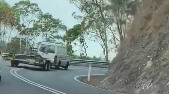 'Holy f***': Terrifying range drive caught on camera