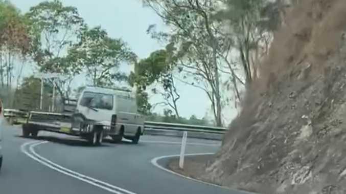 'Holy f***': Terrifying range drive caught on camera