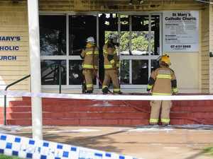Alleged church arsonist mentioned in court
