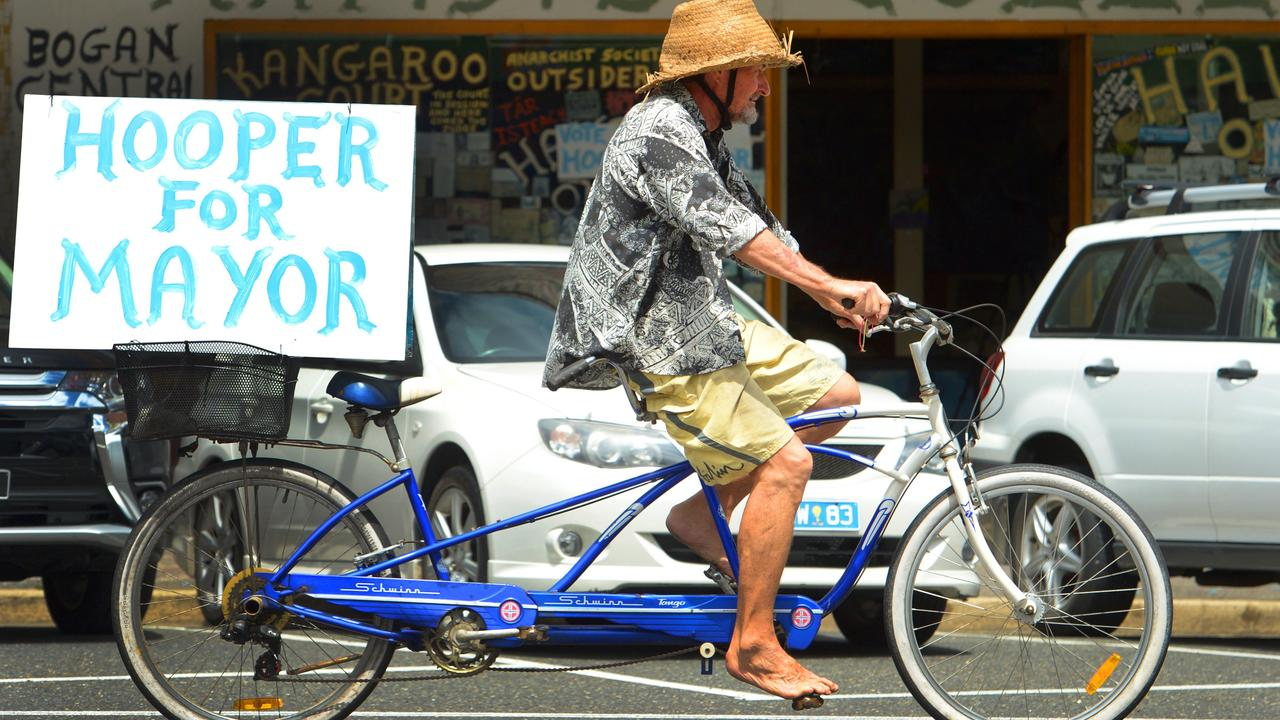 Chris Hooper in previous election campaigns. Photo: Chris Ison / The Morning Bulletin