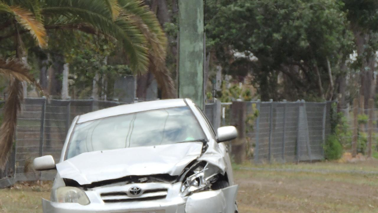Emergency services were called to a crash between a vehicle and a truck in South Kolan this morning.