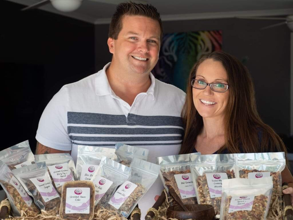 Chris and Melissa Storr have opened a The Gourmet Storr based in Coolum. Picture: Supplied