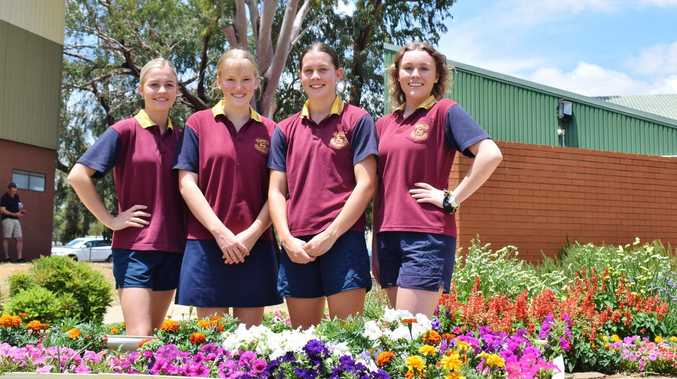 Inspiring young women set to lead Chinchilla High to success in 2021