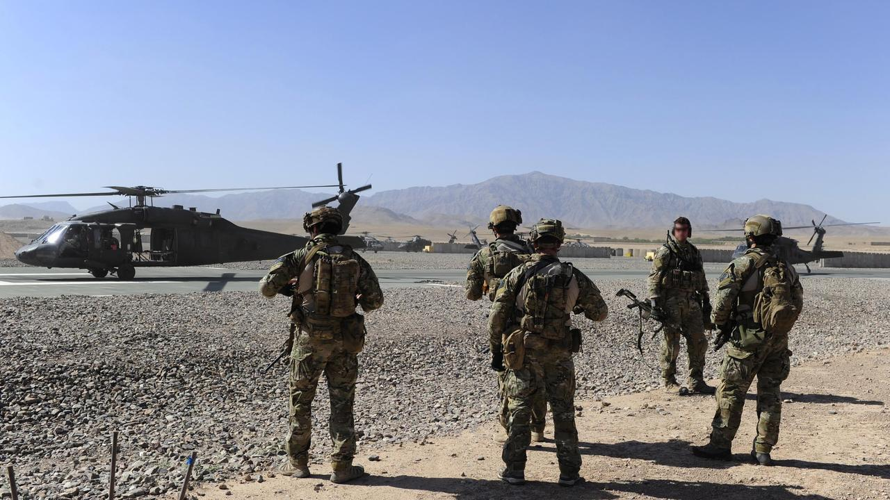 Defence Supplied Pics. Afghan National Security Forces (ANSF) partnered with Australian Special Forces from the Special Operations Task Group conducted a deliberate operation to clear a Taliban insurgent stronghold in the Shah Wali Kot region of northern Kandahar province.