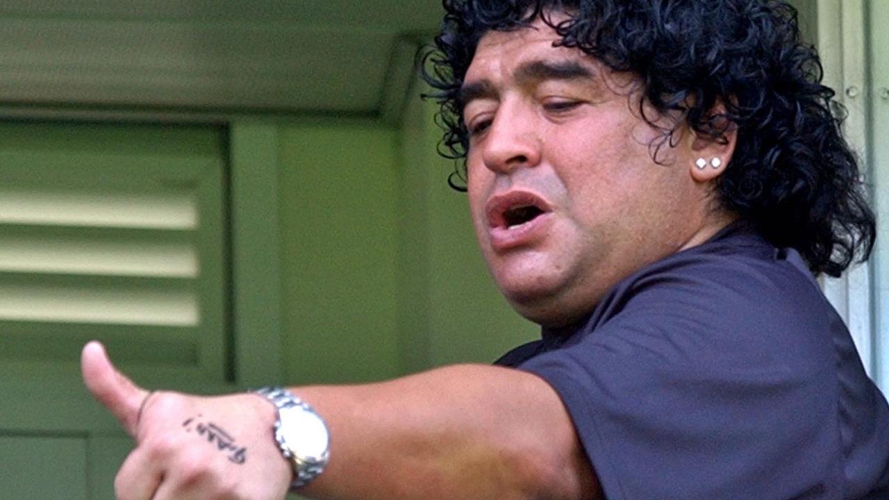 Diego Maradona lived a life.