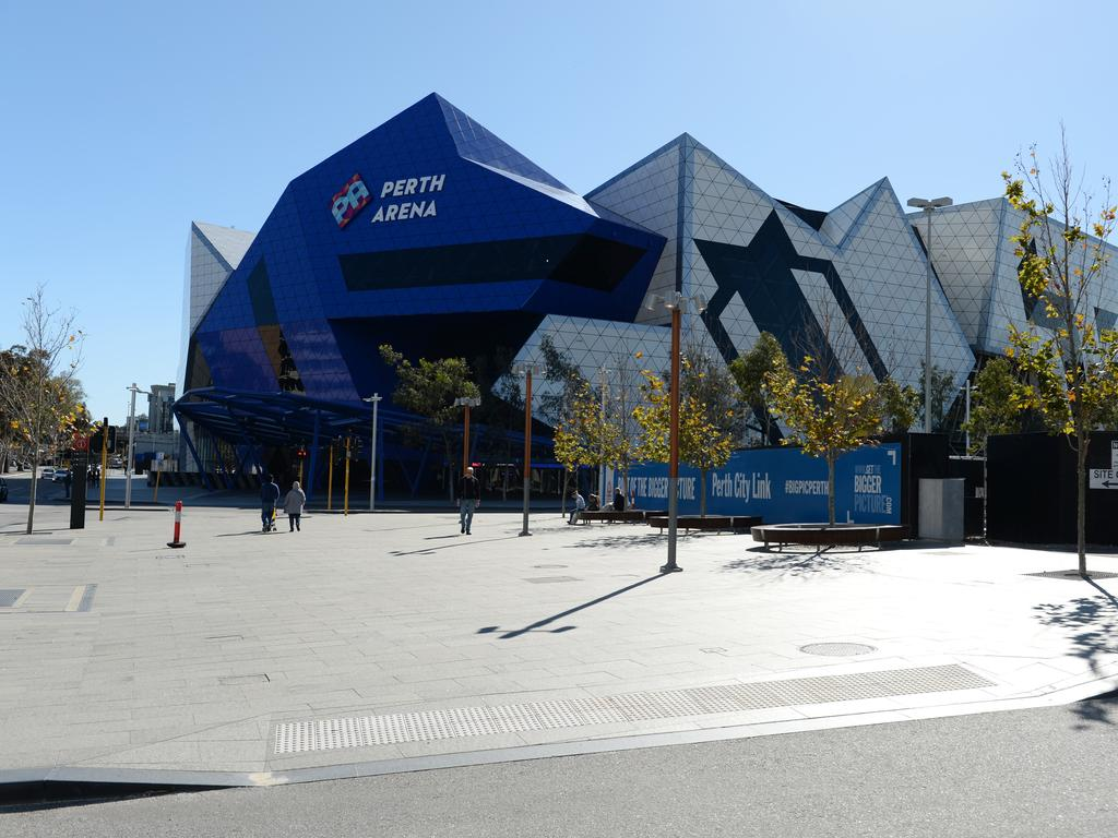 The Perth Arena also looks pretty fine to me.