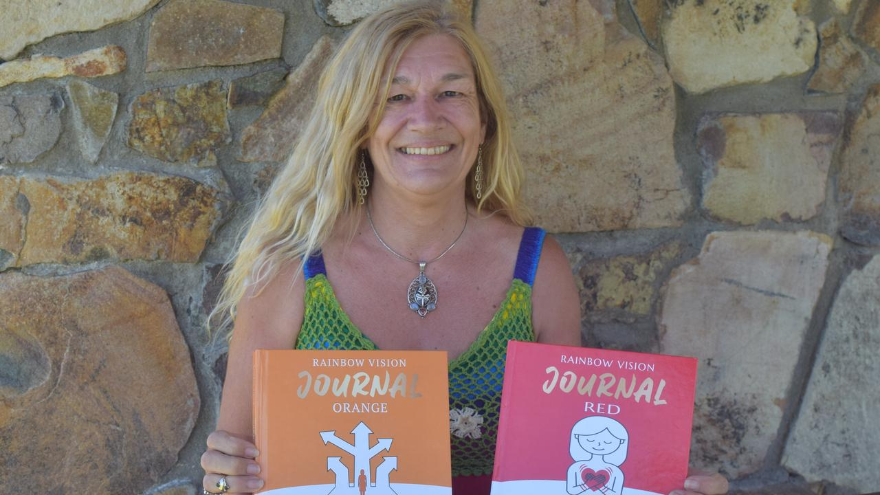 Sharon Dawn (Dewsbury) has launched a series of journals set to harness people's creativity to help them find happiness. Picture: Laura Thomas