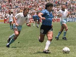 Maradona broke Aussie hearts but inspired a generation