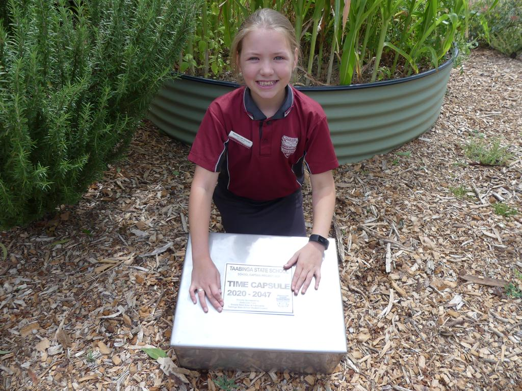 Matti van Schyndel organised a school wide time capsule, reads to younger children, supports other leaders in their projects, organises the PLAY program, and takes part in library duties and student council meetings. Photo/Holly Cormack.