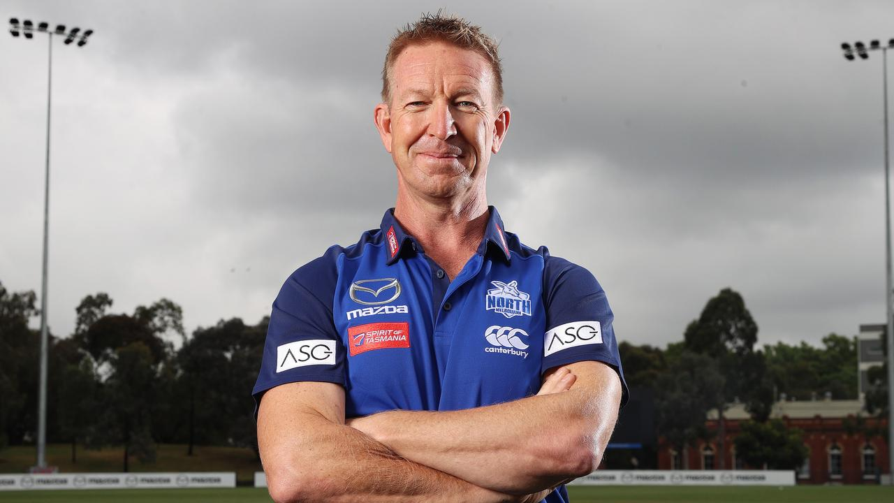Tasmanian David Noble was recently appointed as North Melbourne's new coach. Picture: Michael Klein