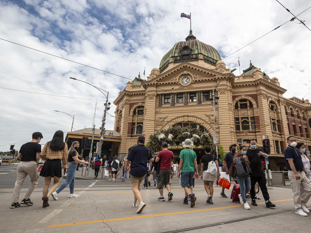 People used to find the iconic Flinders Street Station ugly. Picture: NCA NewsWire/Daniel Pockett