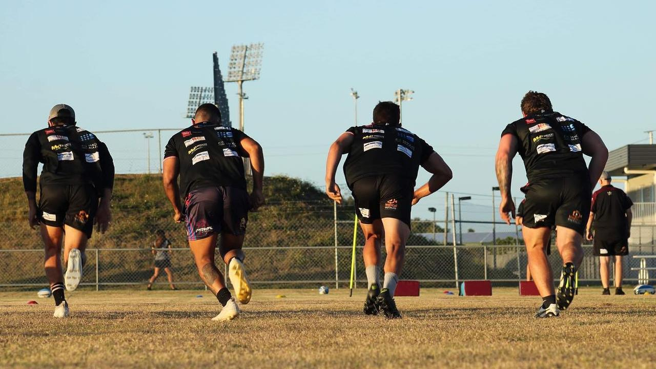 Mackay Cutters have returned to pre-season training.