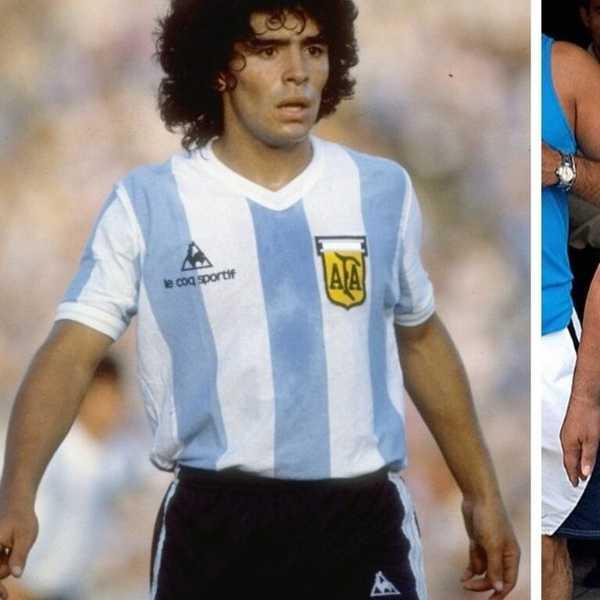 Diego Maradona good and bad.