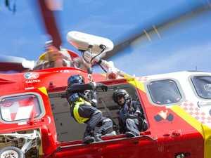 RESCUE: Diehard bushwalker flown from remote track