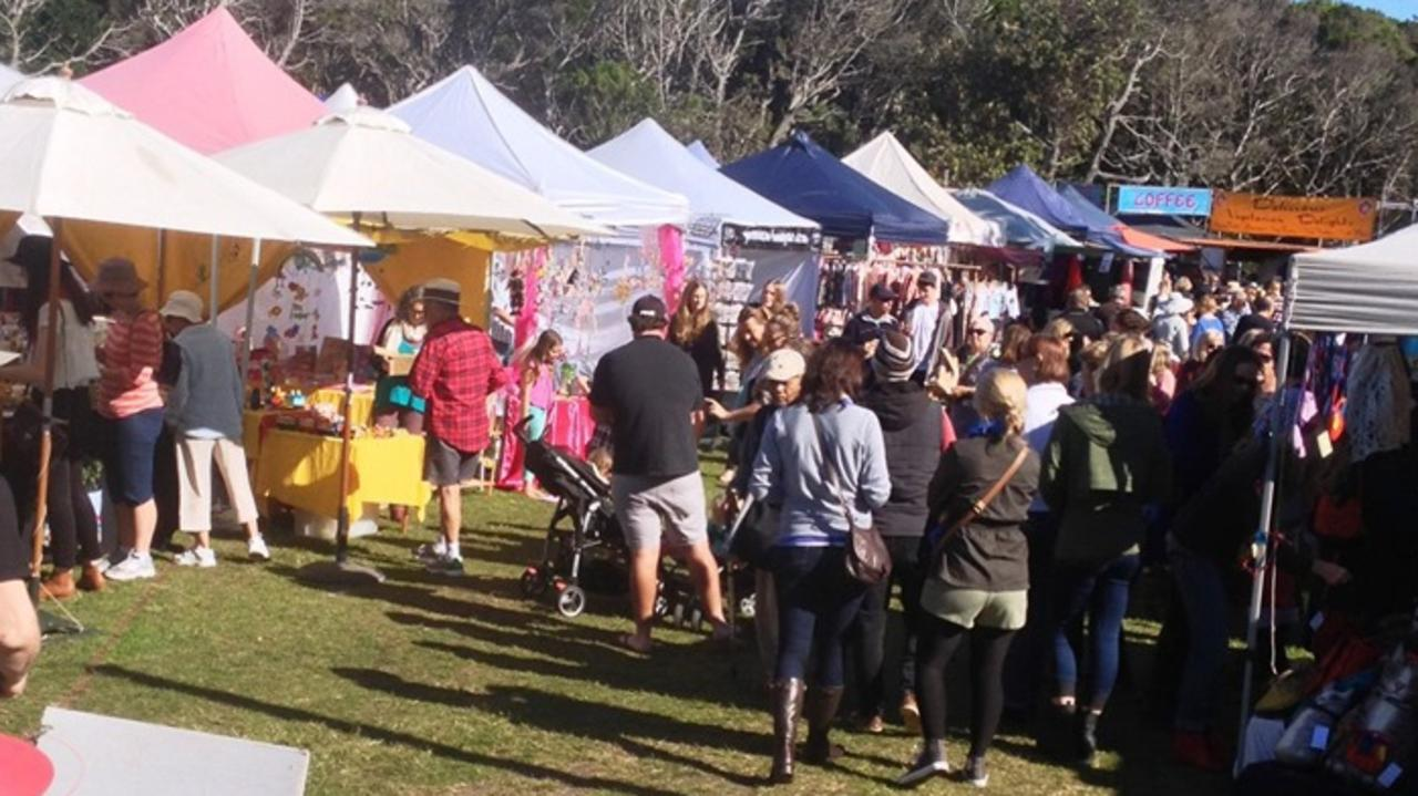 The Lennox Head Community Market was expected to have a change of management.