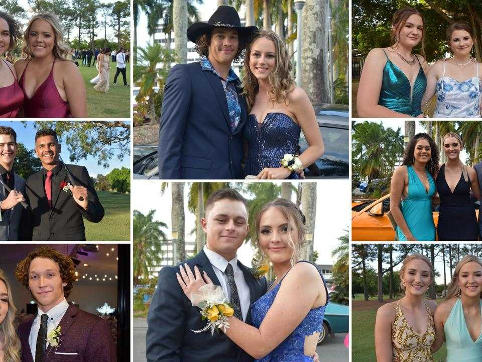 Mackay and Whitsunday students at their 2020 school formals.